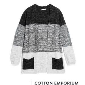 NEW Stitch Fix Cotton Emporium Open Cardigan